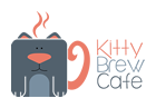 Kitty Brew Cafe Mobile Logo